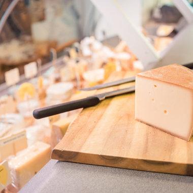 fromagerie sur les marchés