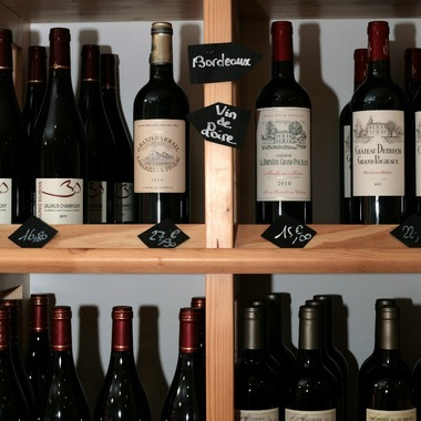 Fromagerie Jeannot : nos vins à L'isle Jourdain